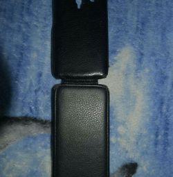 Flip case for phone
