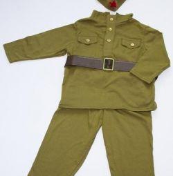 Военная форма на 85см