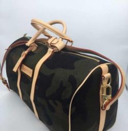 LOUIS VUITTON X SUPREME Original Camo Monogram bag