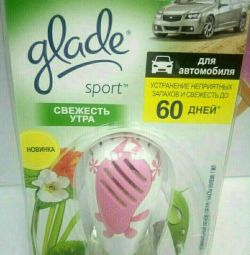 Refreshers for cars Glade