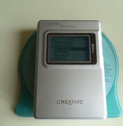 Yaratıcı JUKEBOX Zen Xtra DAP-HD0011-60G MP3 Çalar
