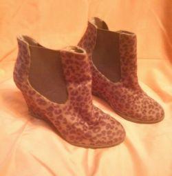 Ghete cizme leopard