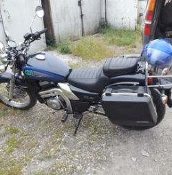 I will sell the Kawasaki EL (Eliminator) motorcycle 250 gv.
