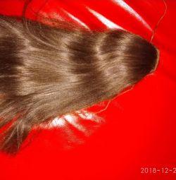 Păr, coadă de coarde.