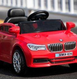 Детский электромобиль BMW с пультом управл