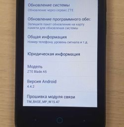 Smartphone ZTE Blade A5