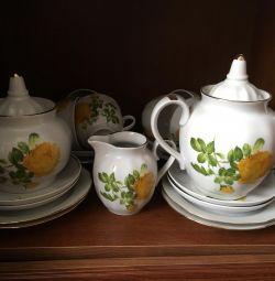 Set de ceai pentru 6 persoane