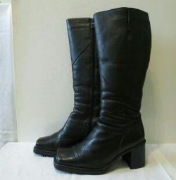 Boots brand ZENDEN nat.kozha, nat.mekh, s.39