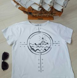 T-shirt in the sea style