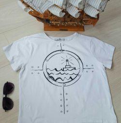 Tricou în stilul mării