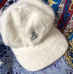 Зимняя кепка, натуральная ангора
