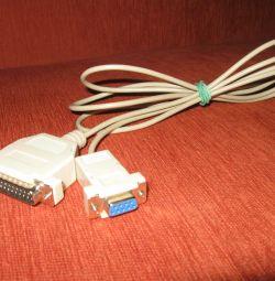 Cable com9 - com25