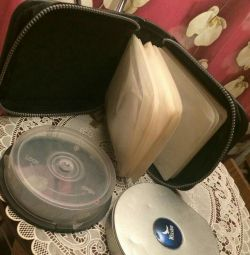 Cases for disks.