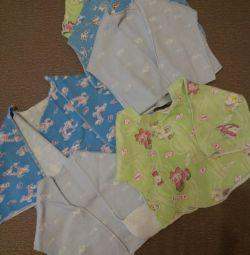 The undershirts.