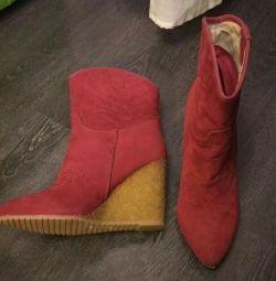 Μποτάκια 38p νέα μπότες Parfois αστράγαλο
