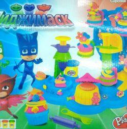 Παιχνίδι που έχει οριστεί για χύτευση Μασκαρισμένοι χαρακτήρες, αρτοποιείο