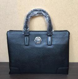 Philipp Plein Men's Briefcase