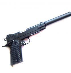 Дитячий пістолет з глушником Airsoft Gun C.10A +