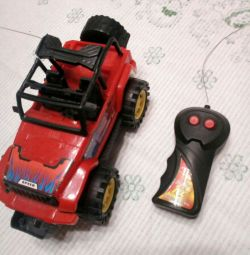 Race car with remote control