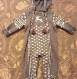 Warm jumpsuit for a boy