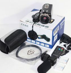FHD Video Camera Delivery with External Microphone