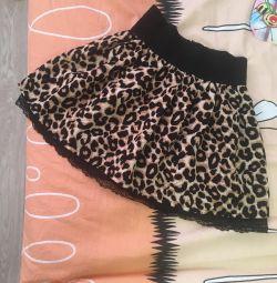 Φούστα λεοπάρδαλη