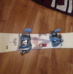 Snowboard, αναρτήσεις, μπότες Burton