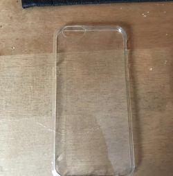 Cutie silicon pentru iPhone 6 și 6s