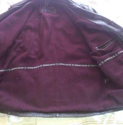 Doğal deri ceket