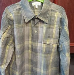 Рубашка на подростка, рост 158 см.