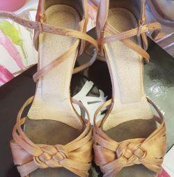 Туфли - латина Ю-1, стелька 21,5 см