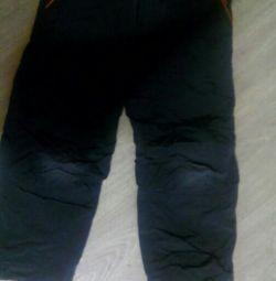 Παντελόνια με ύφασμα