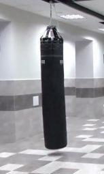 Pungă de box 55 kg Seria Economică Negru