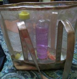 Стильная прозрачная сумка