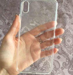 Διαφανής θήκη για iPhone XS Μέγ