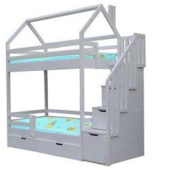 Νέα κρεβατοκάμαρα για κρεβατάκια, πεύκο