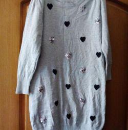 4шт.кофта, свитер, туника, футболка In the ideal.sost.,