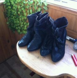 Μπότες από φυσικό δέρμα 39r-r