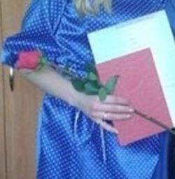 атласну сукню