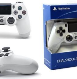 PS4 Joystick (White)