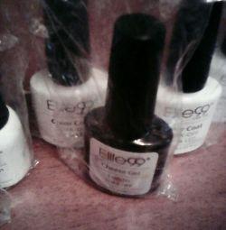 Polish gel polish.