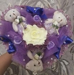 Bouquet with bears