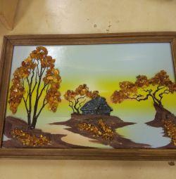 Amber paintings