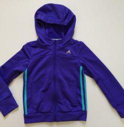 Adidas олимпийка для мальчика. Новая