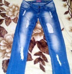 джинси рванка