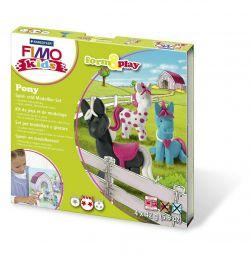 Set pentru modelare de lut polimer Fimo Kids