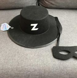 Zoro's hat and mask
