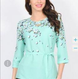 Selling blouse, mint shirt