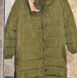 Женская тeплая куртка на синтепоне