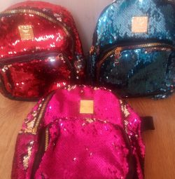 Backpack for the girl new